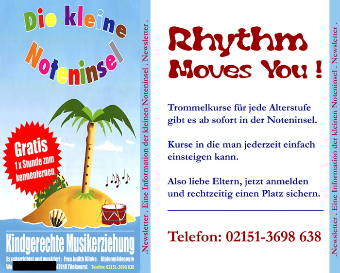 Flyerentwurf  3 Trommelkurse Rhythm moves you 2012  700 px Neu